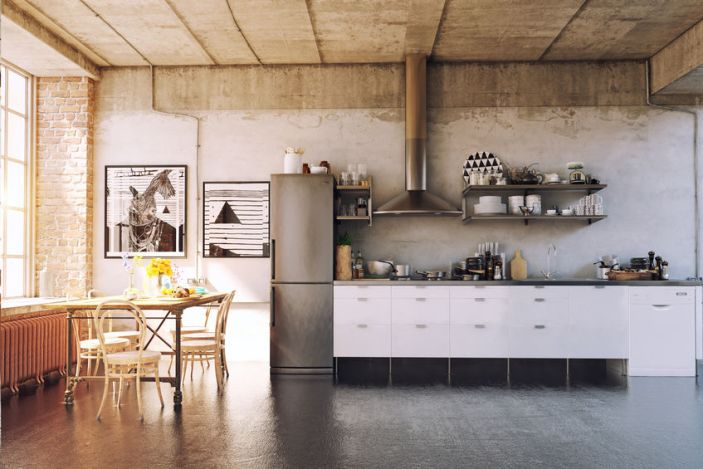Why Concrete is the Perfect Kitchen Floor