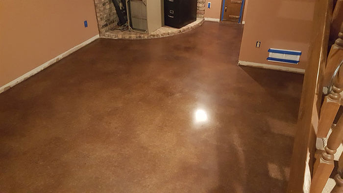 Polished Concrete Basement Floors Minneapolis, Minnesota