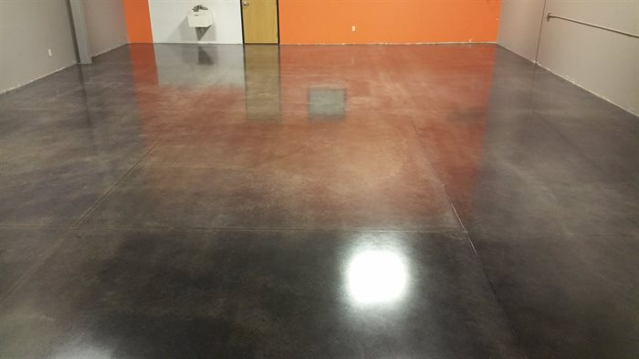 staining concrete flooring Twin Cities Minnesota