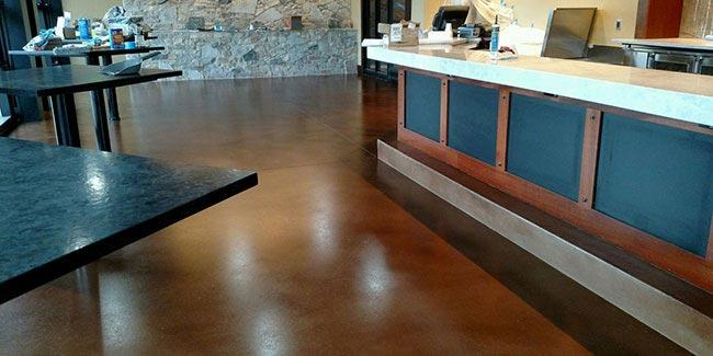 Terrazzo Concrete Floor Restoration Refinishing Brooklyn