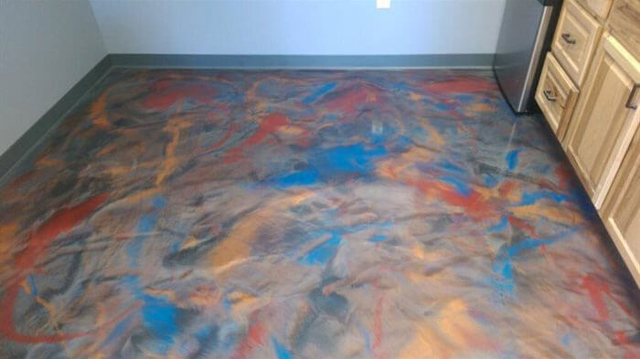 Reflector Floor Epoxy